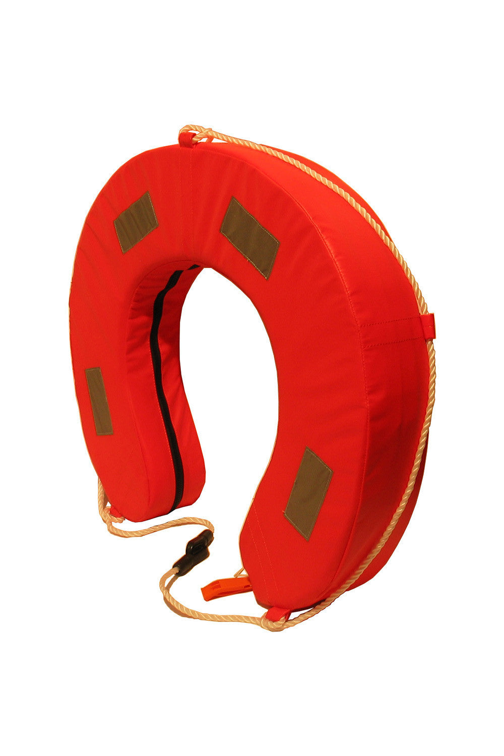Burke Horseshoe Lifebuoy - YA Orange - LIF220YA