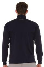 Burke Quick Dry Long Sleeve Zip Polo - SP8