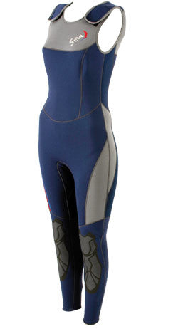 SEA HP012 3mm Women's Long John Wetsuit Convertible