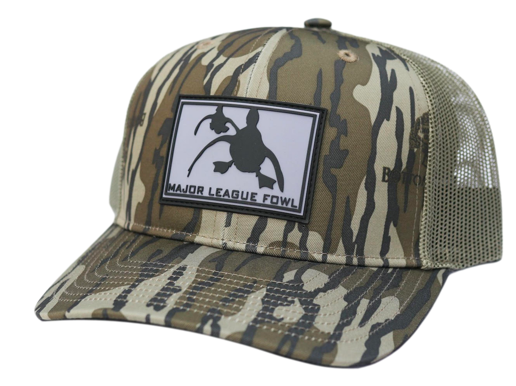 Mossy Oak Bottomland Rubber Patch Hat
