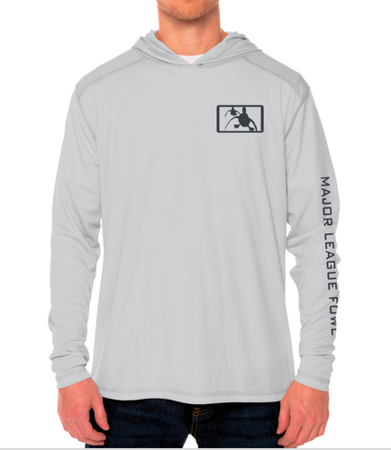 Pearl Grey Performance Hoody