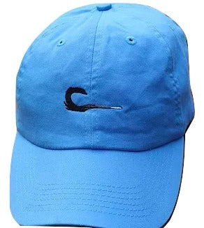Curl Hat-Blue