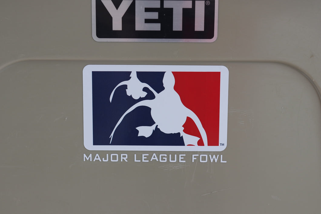 Logo Waterfowl Decal With Text