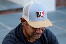 Amber Gold/Heather Grey 3D Logo Hat