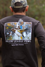 Long Sleeve Mallard Tee (Brown)