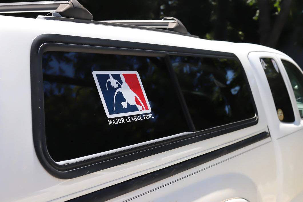 Logo Trailer/Camper Top Decal