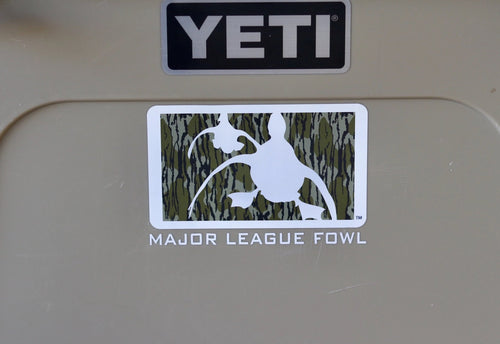 Bottomland Logo Waterfowl Decal With Text