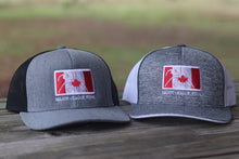 Heathered Grey Canada Hat