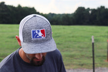Heathered Grey Logo 3D Hat