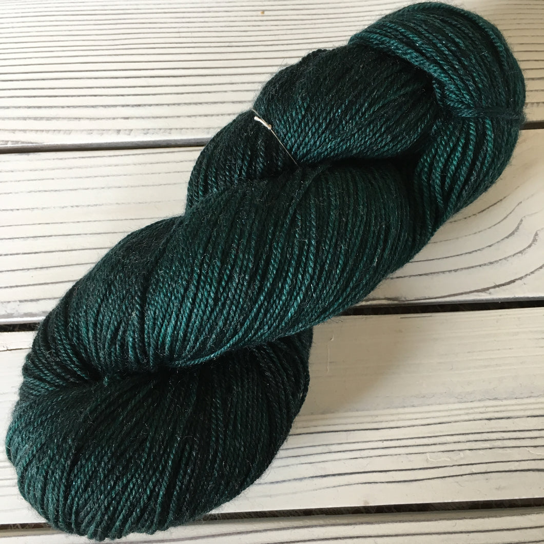 Boreal on Merino Cashmere Sparkle Fingering