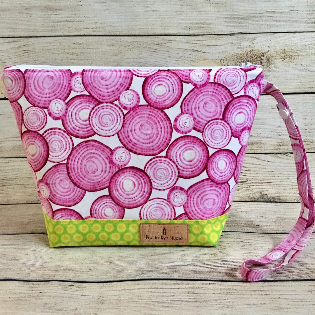 SMALL Purple Onion Project Bag