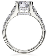2.10 Ct. Round Solitaire Diamond Engagement Ring VS2 F