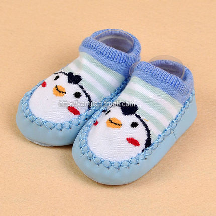 Baby Socks Children Infant Cartoon Indoor Floor Socks Leather Sole