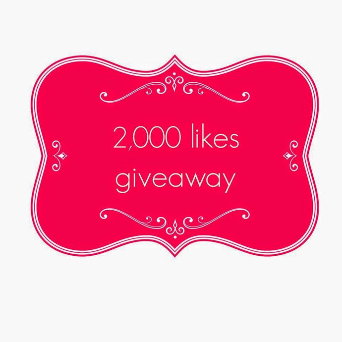 2000 likes giveaway