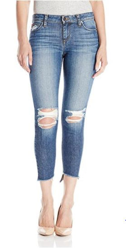 The Blondie Skinny Ankle Jean in Coppola