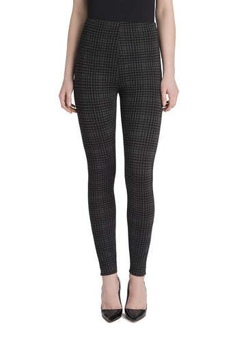 Natalie Legging, Charcoal Check