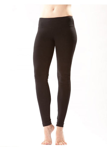 Flat Ankle Legging, Black