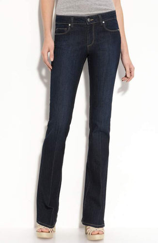 Skyline Bootcut Stretch Jeans in Fountain