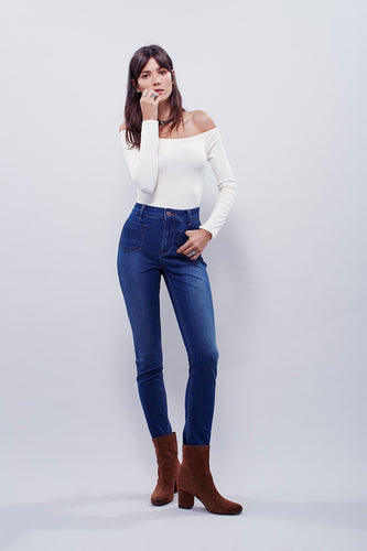 Beverly Skinny Jeans - Alabama Blue