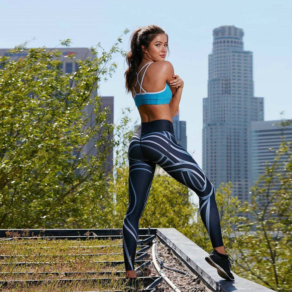Active Tribal Printed Leggings