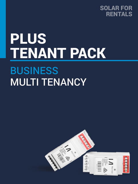Solar for Rentals SME PLUS TENANT PACK  Three Phase Faraday
