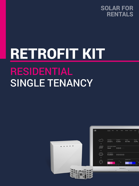 Solar for Rentals RESIDENTIAL SINGLE DWELLING RETROFIT KIT