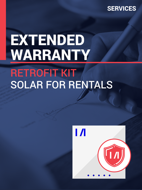 Extended Warranty Pack for Retrofit Kit for Solar for Rentals