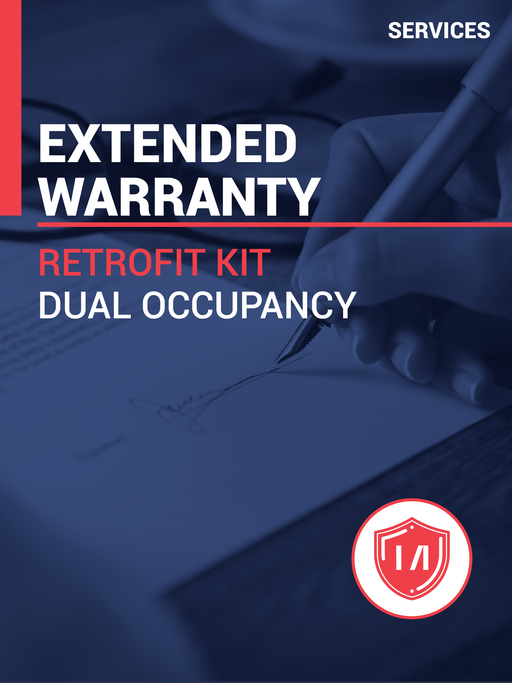 Extended Warranty Pack for Retrofit Kit for Dual Occupancy