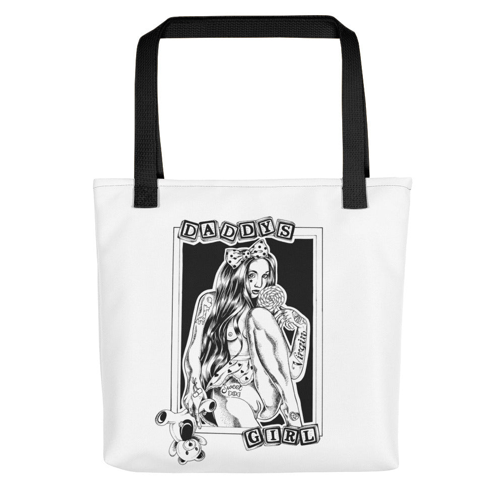 Daddys girl Tote bag