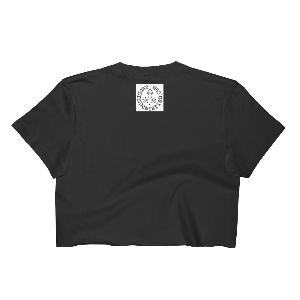 Hell cat Women's Crop Top