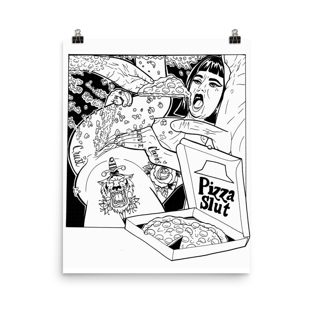 Pizza Slut Poster