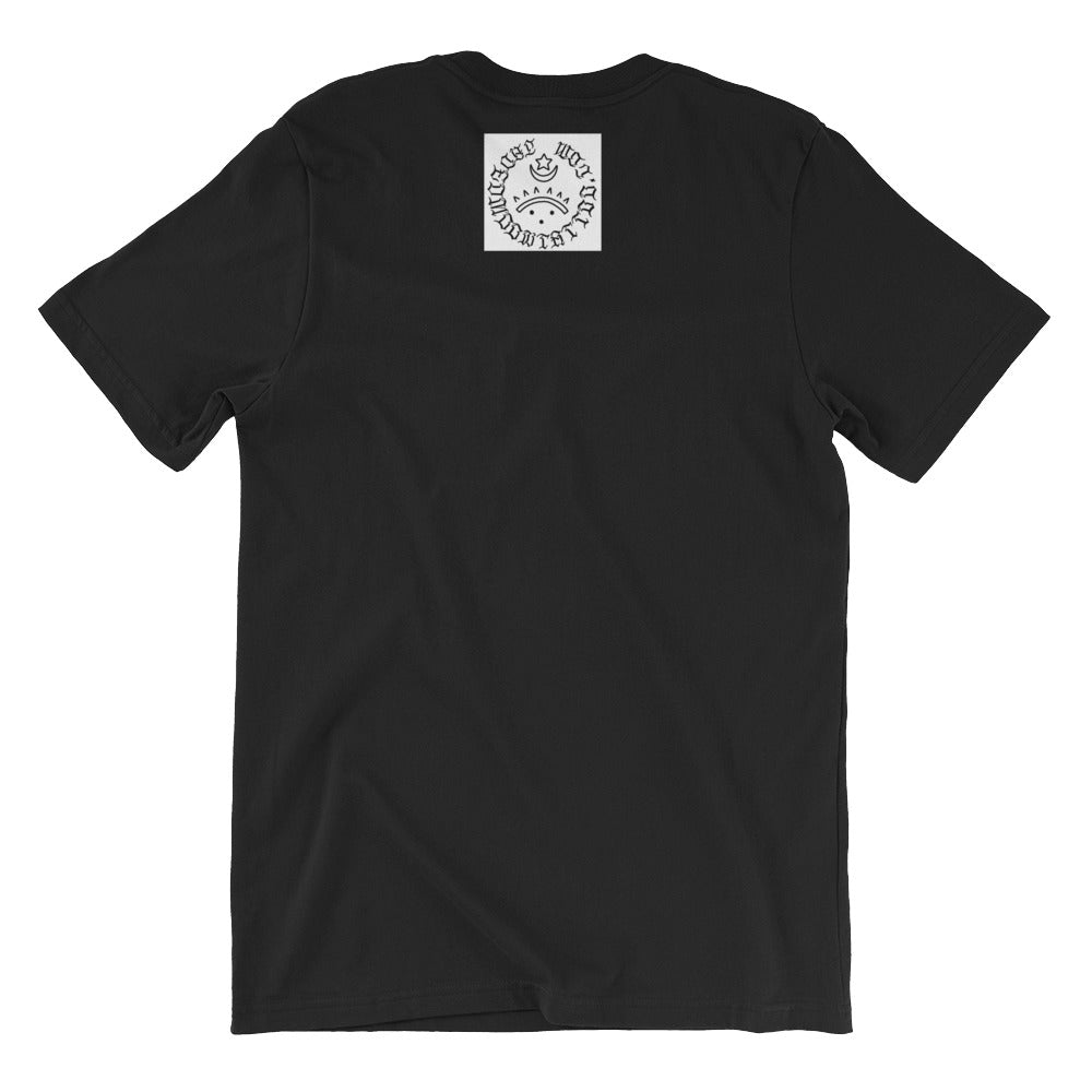 Handled Short-Sleeve Unisex T-Shirt