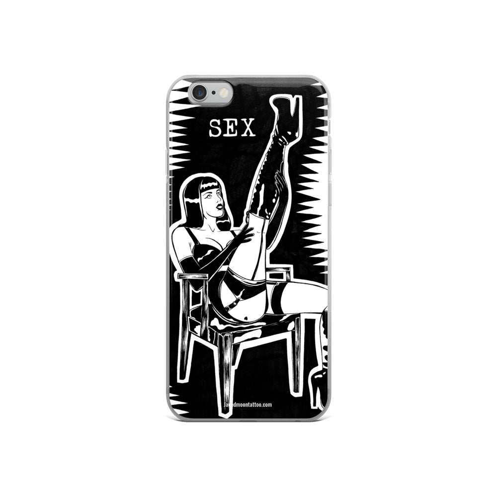 Sex sells iPhone Case