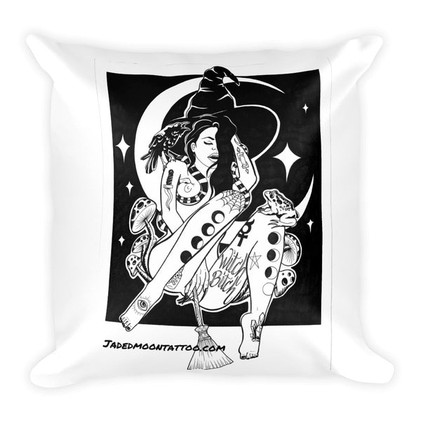 WITCH BITCH Square Pillow