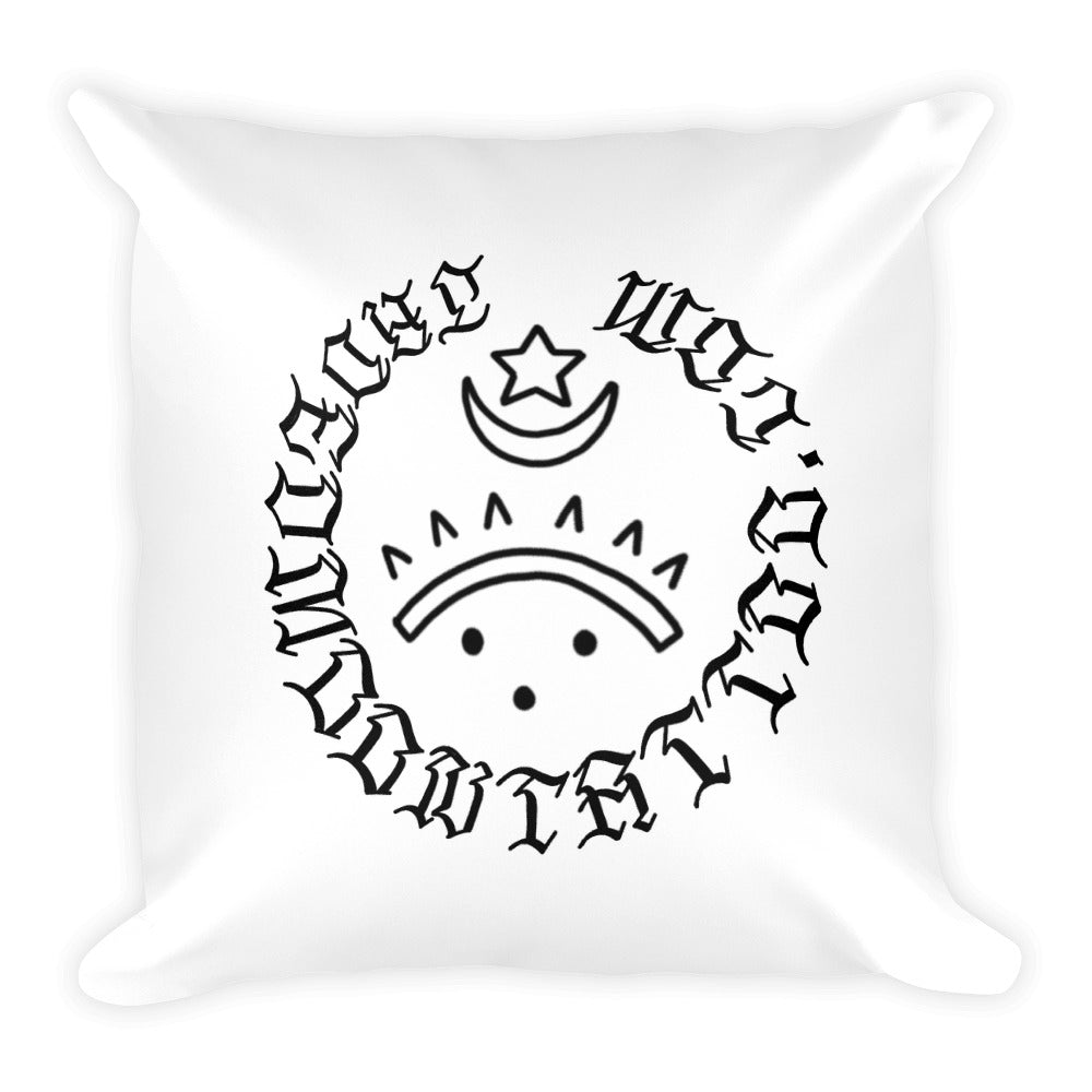 Born again slut Square Pillow