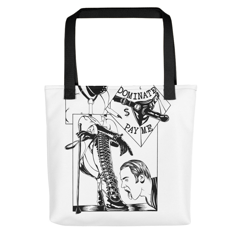 Pay me Tote bag