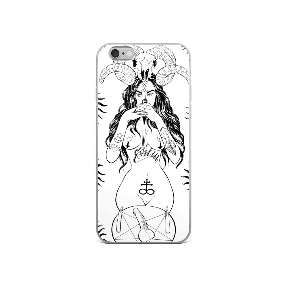 Bitchez be evil iPhone Case
