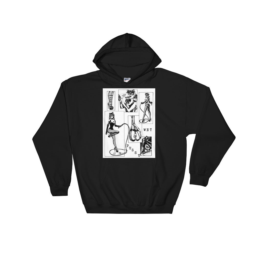 Wet pussy Hooded Sweatshirt