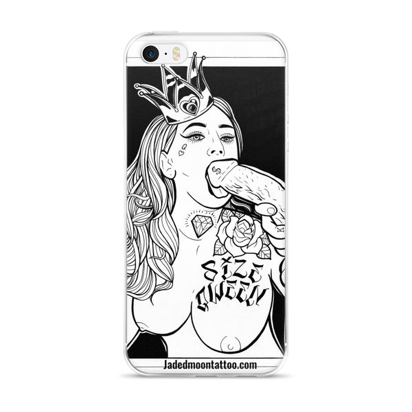 size qween iPhone Case