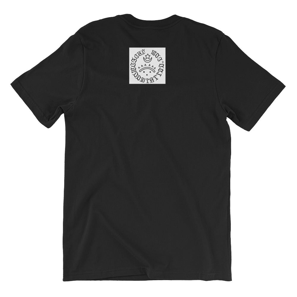 Waiting for the train Short-Sleeve Unisex T-Shirt