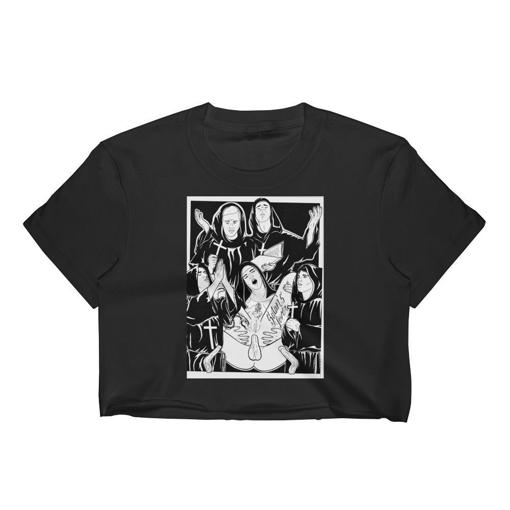 Satan's Lover Women's Crop Top