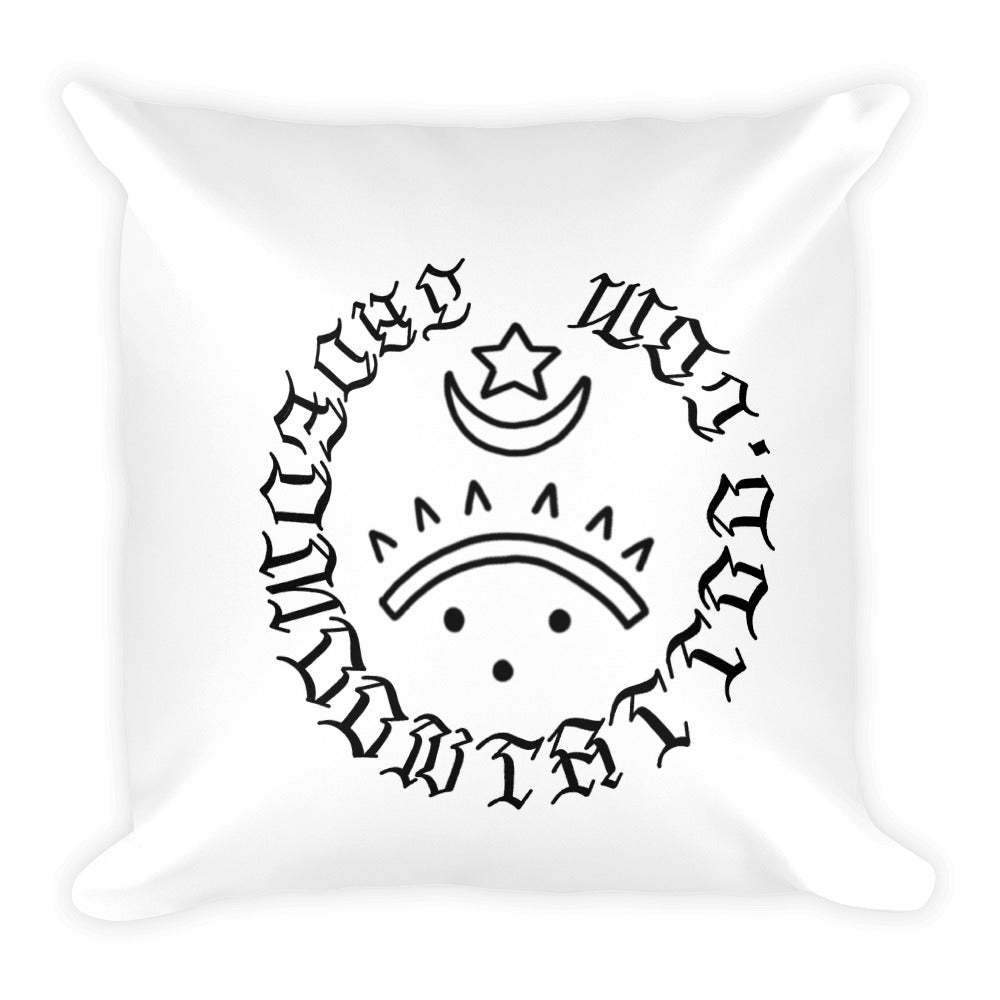 Open Minded Basic Pillow