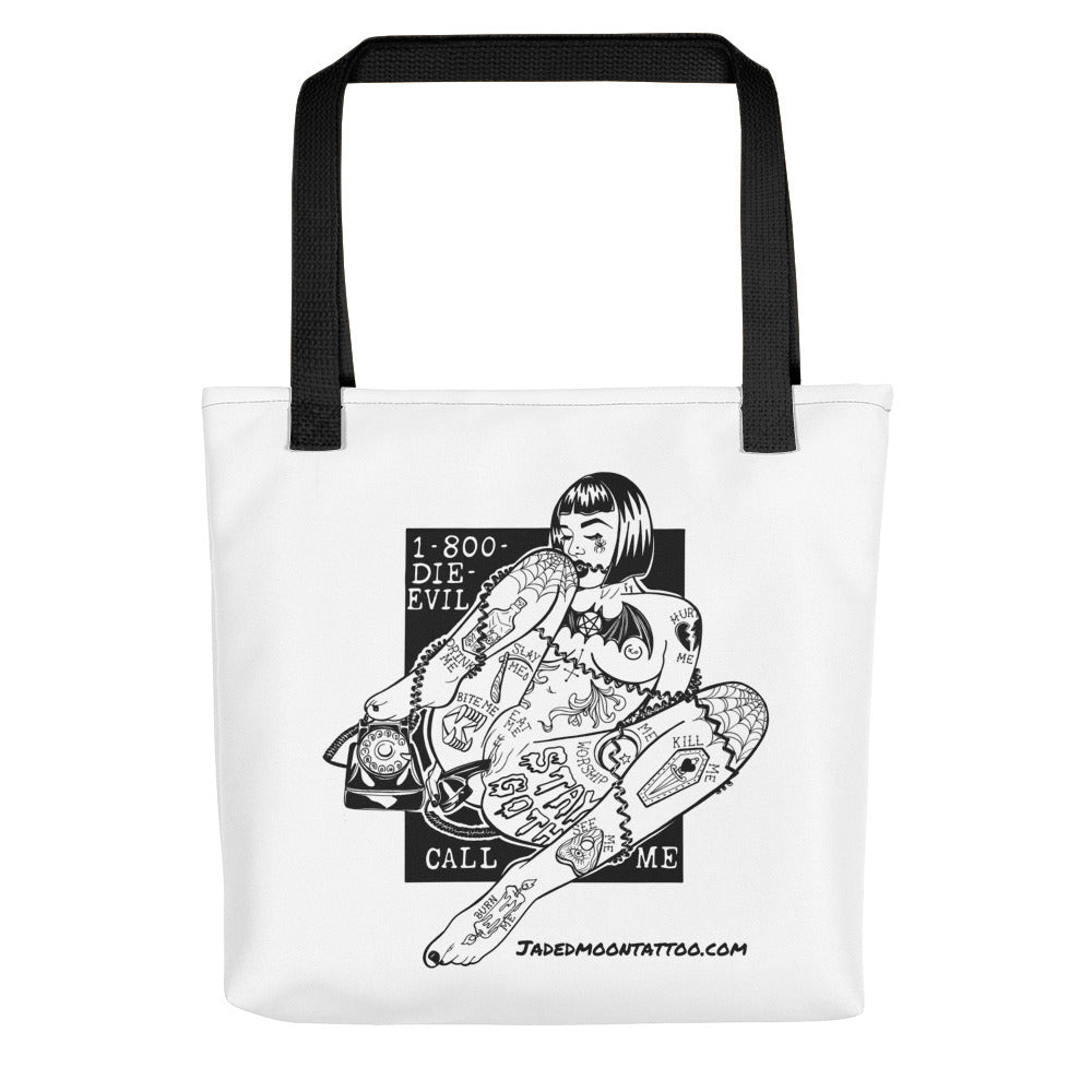 CALL ME! Tote bag