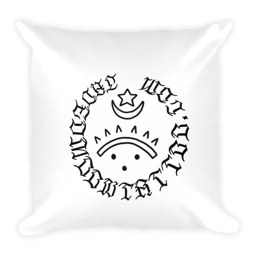 Bound to surf Square Pillow