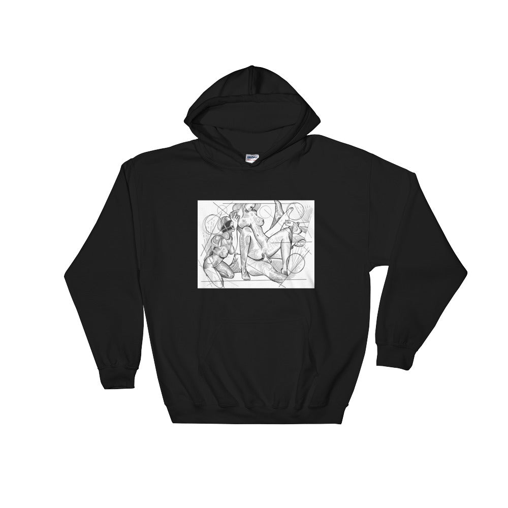 Better with friends Hooded Sweatshirt