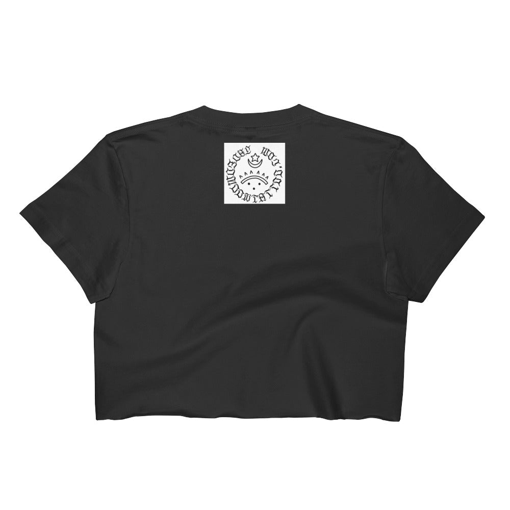 Better with friends Women's Crop Top