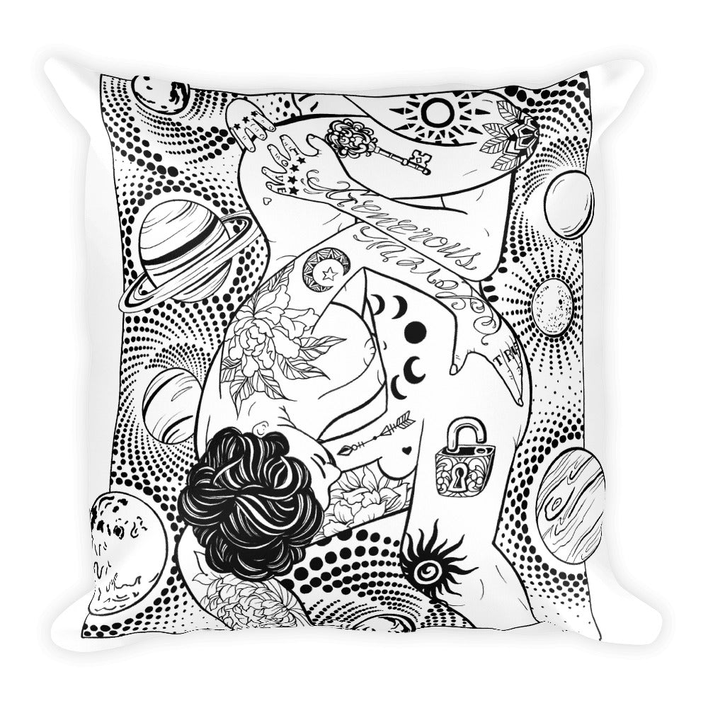 Generous lover Square Pillow