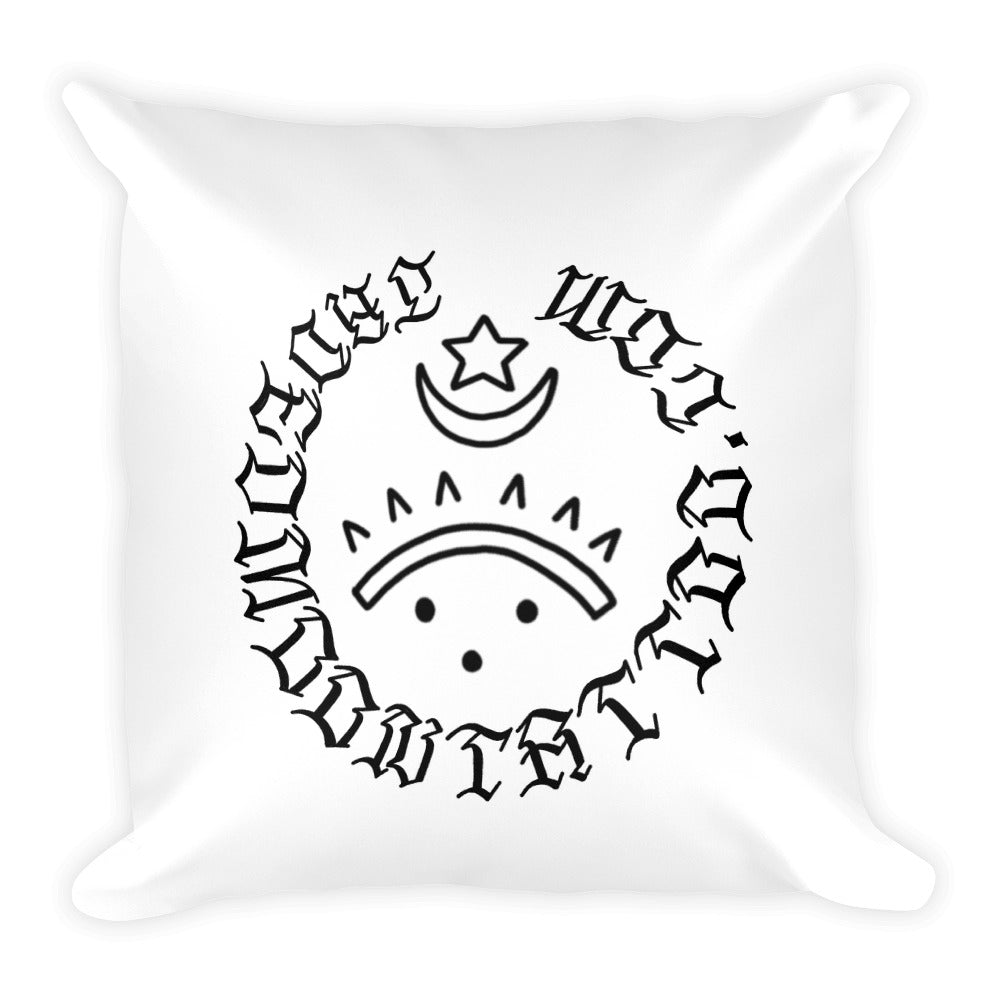 Bitchez be evil Square Pillow