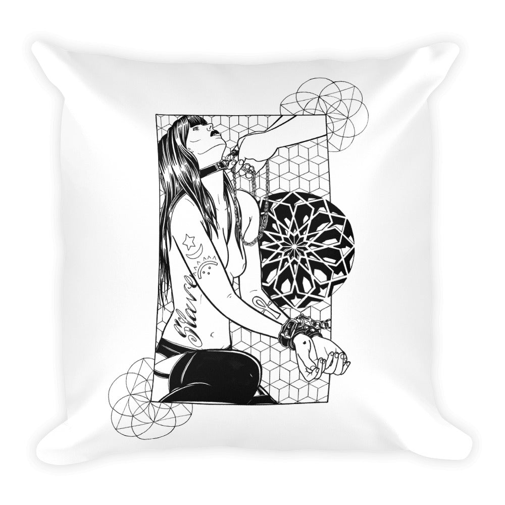 Slave Square Pillow