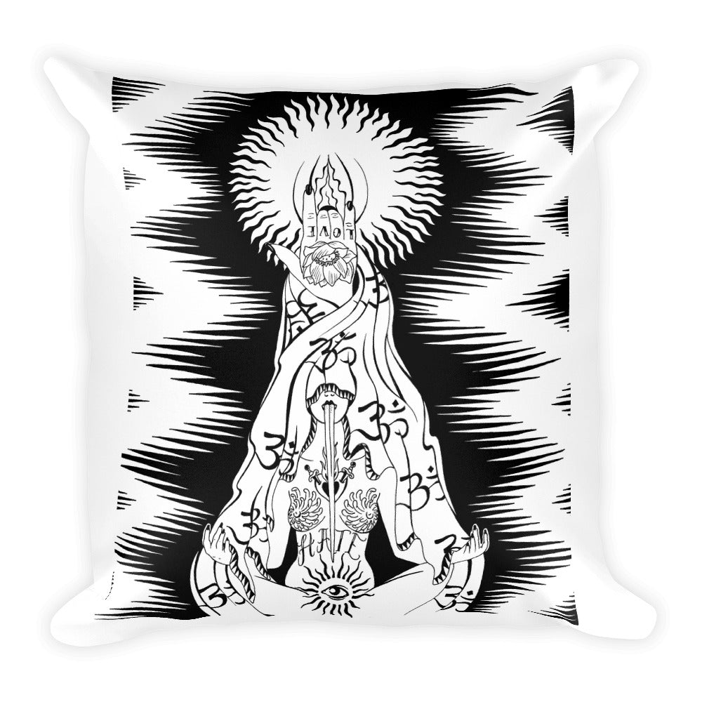 Ohm Square Pillow